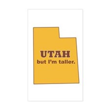 """Utah"" Rectangle Decal"