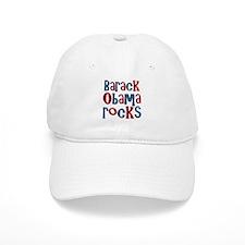 Barack Obama Rocks President Baseball Cap