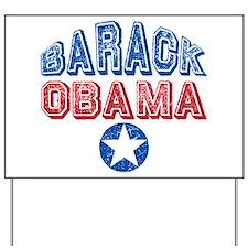 Barack Obama Patriotic USA Yard Sign