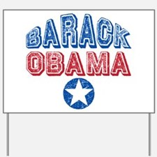 Barack Obama Patriotic USA Yard Sign