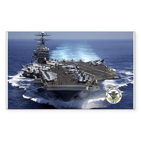 USS Carl Vinson CVN-70 Rectangle Sticker