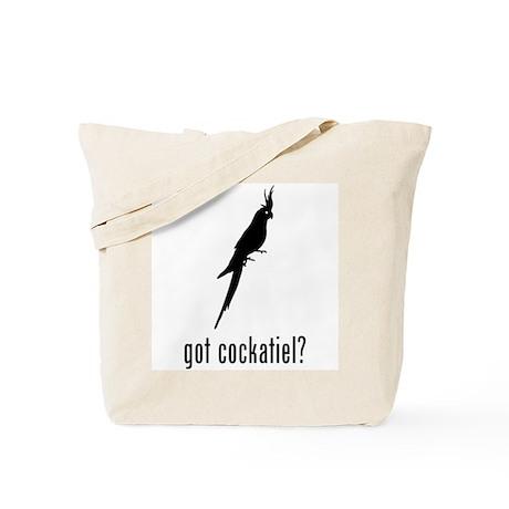 Cockatiel Tote Bag