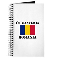 I'm Wanted In Romania Journal