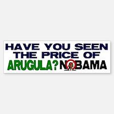 The Price of Arugula Bumper Bumper Bumper Sticker