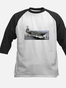 USS Carl Vinson CVN-70 Kids Baseball Jersey