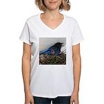 Baby Steller's Jays Women's V-Neck T-Shirt