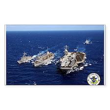 USS Carl Vinson CVN-70 Rectangle Decal