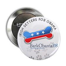 Irish Setters for Obama button