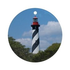 Lighthouse Ornament (Round)