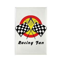 Racing Mason Fan Rectangle Magnet (10 pack)