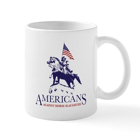 Americans Against Horse Slaughter Mug