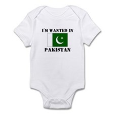 I'm Wanted In Pakistan Infant Bodysuit