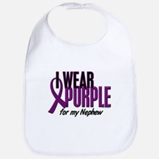 I Wear Purple For My Nephew 10 Bib