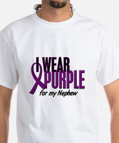 I Wear Purple For My Nephew 10 Shirt