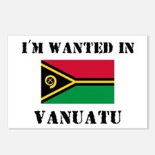 I'm Wanted In Vanuatu Postcards (Package of 8)