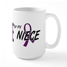 I Wear Purple For My Niece 10 Mug