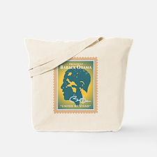 PRESIDENT OBAMA-STAMP - Tote Bag