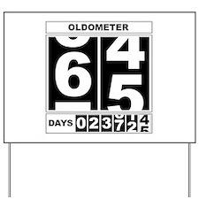 65th Birthday Oldometer Yard Sign