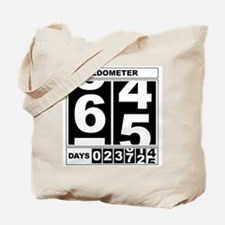 65th Birthday Oldometer Tote Bag