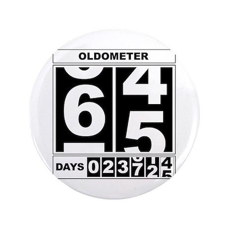 "65th Birthday Oldometer 3.5"" Button"