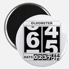 65th Birthday Oldometer Magnet