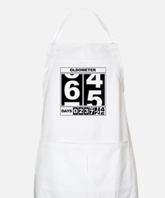 65th Birthday Oldometer BBQ Apron