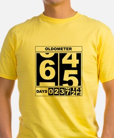 65th Birthday Oldometer T