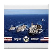 USS Carl Vinson CVN-70 Tile Coaster