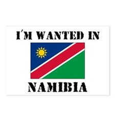 I'm Wanted In Namibia Postcards (Package of 8)