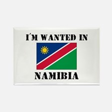I'm Wanted In Namibia Rectangle Magnet
