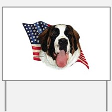Saint Bernard Flag Yard Sign