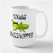 Young Grasshopper Challenge Large Mug