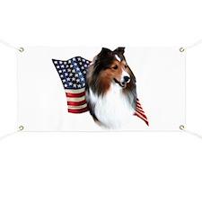 Sheltie(sbl) Flag Banner