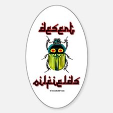 Desert Service Oval Decal