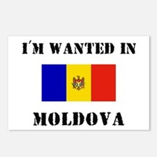 I'm Wanted In Moldova Postcards (Package of 8)