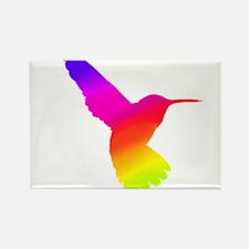 Hummingbird Art Rectangle Magnet