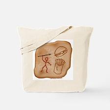 Hunting Dinner Tote Bag