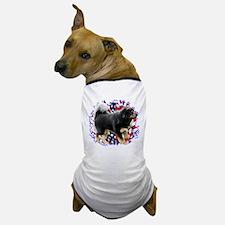 Tibetan Mastiff Patriotic Dog T-Shirt