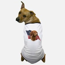 Vizsla Flag Dog T-Shirt