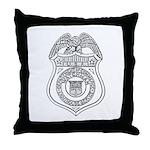 Watchman U.S.L.H.S. Throw Pillow