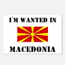 I'm Wanted In Macedonia Postcards (Package of 8)