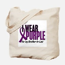 I Wear Purple For My Brother-In-Law 10 Tote Bag