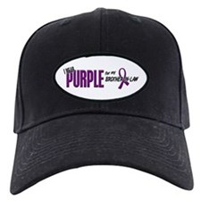 I Wear Purple For My Brother-In-Law 10 Baseball Hat