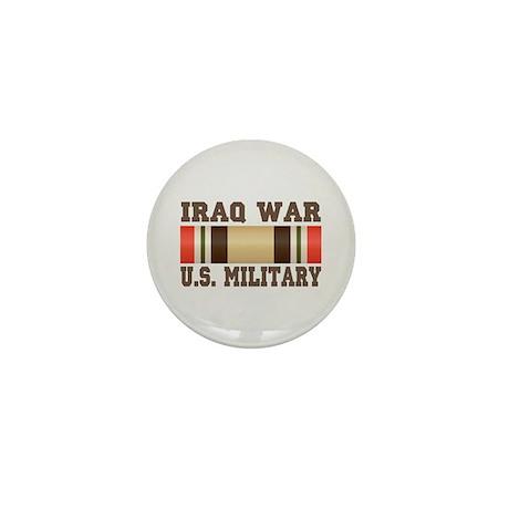 Iraq War Service Ribbon Mini Button (100 pack)