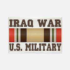 Iraq War Service Ribbon Rectangle Magnet