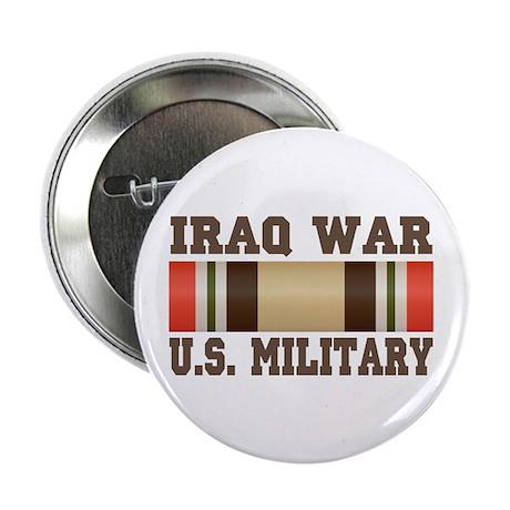 "Iraq War Service Ribbon 2.25"" Button"
