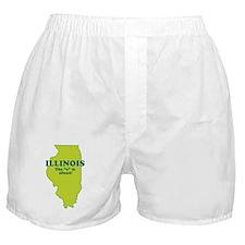 """Illinois"" Boxer Shorts"