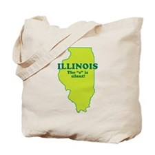 """Illinois"" Tote Bag"