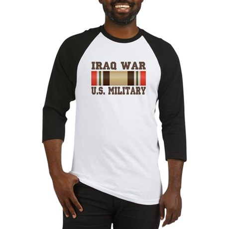 Iraq War Service Ribbon Baseball Jersey