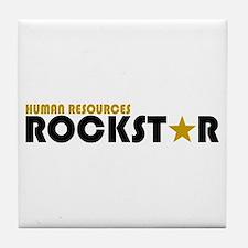 Human Resources Rockstar Tile Coaster